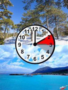 Кипр Время