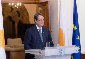 Кипр Президент Анастасиадис